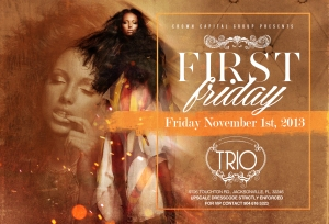 Join me as a host  Jacksonville's Premier upscale event happening once per month at Trio event center. located 9726 Touchton rd.   The Katz Downstairs will open the show at 9pm. Then enjoy the sounds of DJ Byrd and myself ROCKING the best hip-hop, R&B, and reggae until 2 pm