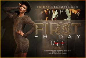 Join Me your Number 1 Celebration expert For the Last First Friday of 2013.  Live Band , Great atmosphere and the hottest Djs